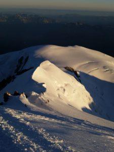 Arête des bosses - Mont Blanc